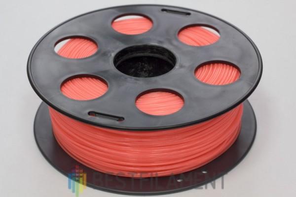 Фото нить для 3D-принтера Коралловый PLA пластик Bestfilament 1 кг, 1.75 мм