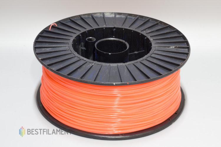 Фото нить для 3D-принтера Коралловый PLA пластик Bestfilament 2.5 кг, 1.75 мм
