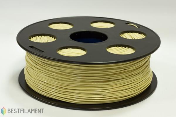 Фото нить для 3D-принтера Коричневый PLA пластик Bestfilament 2.5 кг, 1.75 мм