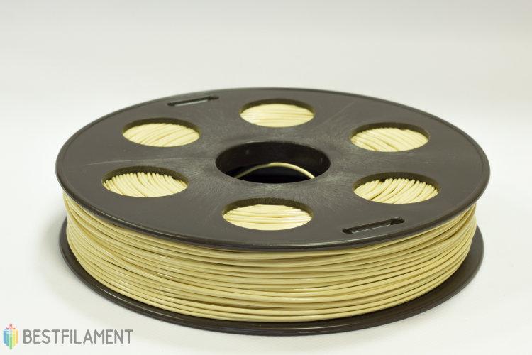Фото нить для 3D-принтера Коричневый (светлый) ABS пластик Bestfilament 0.5 кг, 1.75 мм