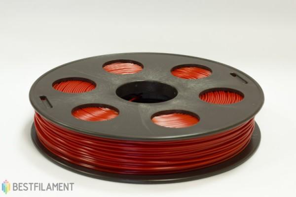 Фото нить для 3D-принтера Красный ABS пластик Bestfilament 0.5 кг, 1.75 мм