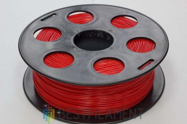 Фото нить для 3D-принтера Красный PLA пластик Bestfilament 1 кг, 1.75 мм