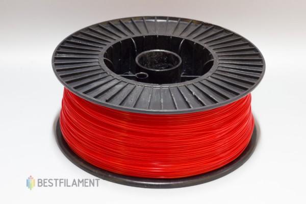 Фото нить для 3D-принтера Красный PLA пластик Bestfilament 2.5 кг, 1.75 мм