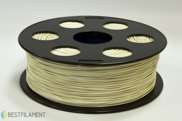 Фото нить для 3D-принтера КРЕМОВЫЙ ABS пластик Bestfilament 1 кг, 1.75 мм