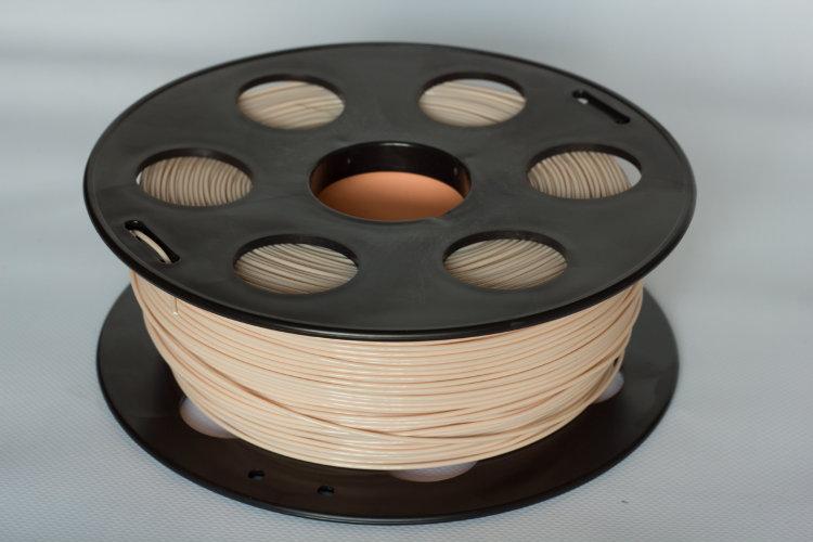 Фото нить для 3D-принтера Кремовый PLA пластик Bestfilament 1 кг, 1.75 мм