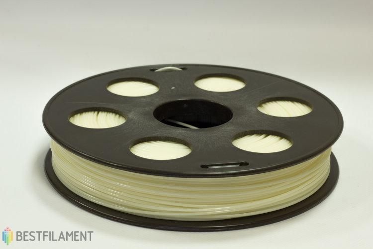 Фото нить для 3D-принтера Натуральный ABS пластик Bestfilament 0.5 кг, 1.75 мм