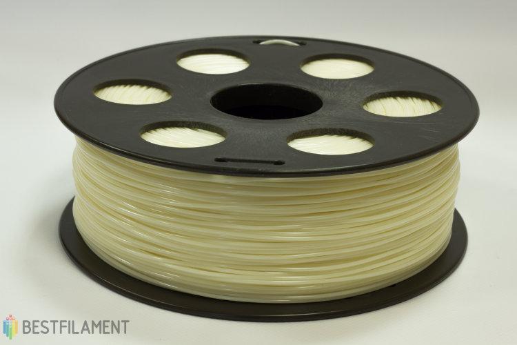 Фото нить для 3D-принтера Натуральный ABS пластик Bestfilament 1 кг, 2.85 мм