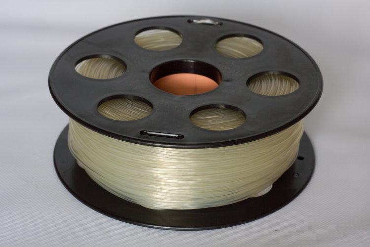 Фото нить для 3D-принтера Натуральный PLA пластик Bestfilament 1 кг, 2.85 мм
