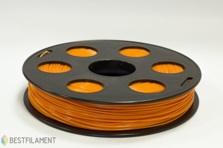 Фото нить для 3D-принтера Оранжевый ABS пластик Bestfilament 0.5 кг, 1.75 мм