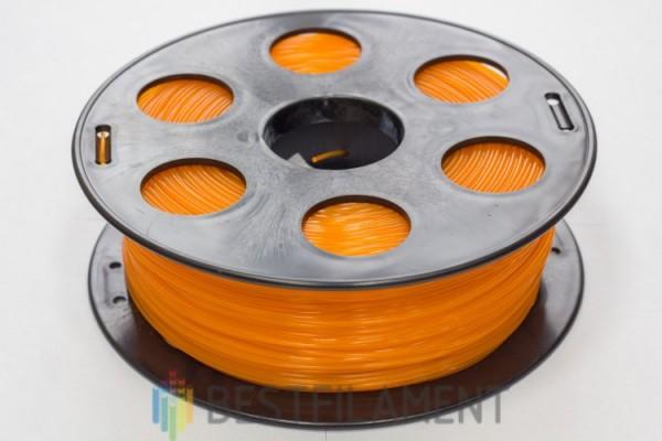 Фото нить для 3D-принтера Оранжевый PLA пластик Bestfilament 1 кг, 1.75 мм