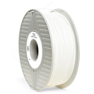 Фото нить для 3D-принтера PLA-волокно Verbatim 1,75 мм, 1 кг Белый
