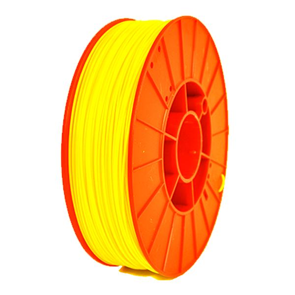 Фото нить для 3D-принтера PLA пластик PrintProduct желтый