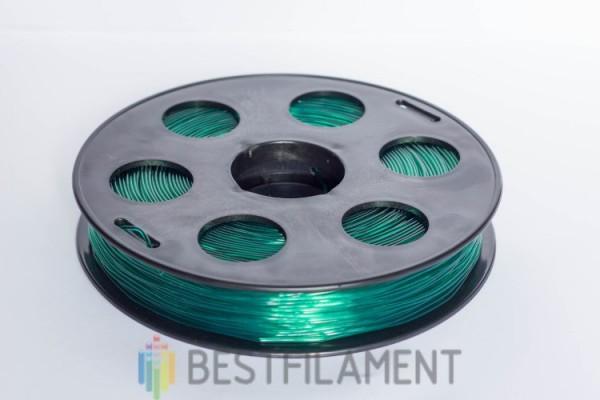 """Фото нить для 3D-принтера Пластик Bestfilament """"Ватсон"""" 1.75 мм, 0.5 кг, Изумрудный"""