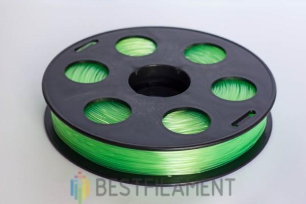 """Фото нить для 3D-принтера Пластик Bestfilament """"Ватсон"""" 1.75 мм, 0.5 кг, Салатовый"""