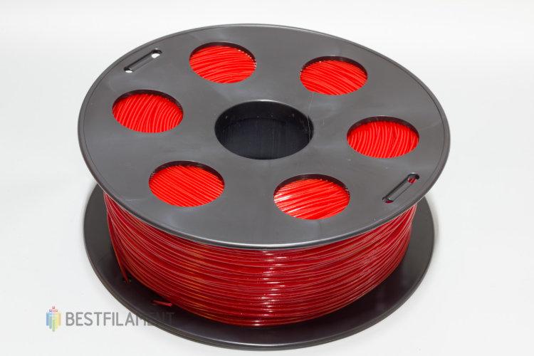 """Фото нить для 3D-принтера Пластик Bestfilament """"Ватсон"""" 1.75 мм, 1 кг, Красный"""