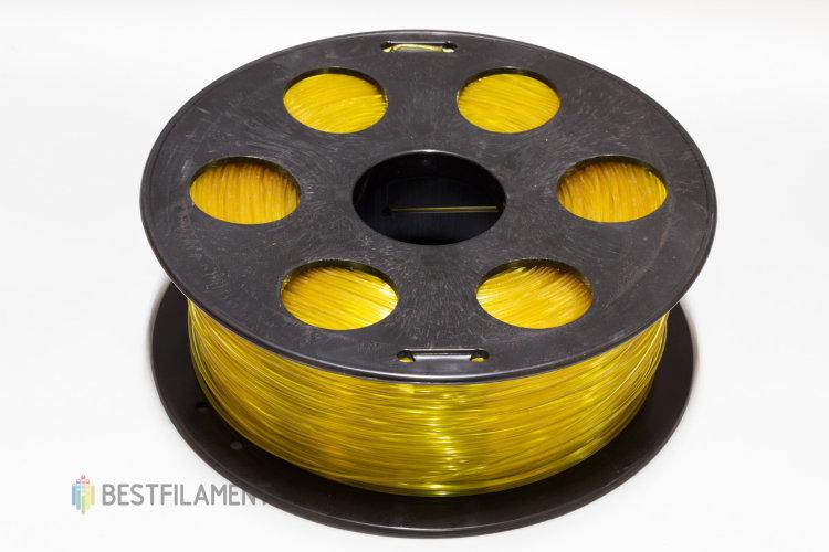 """Фото нить для 3D-принтера Пластик Bestfilament """"Ватсон"""" 1.75 мм, 1 кг, Желтый"""