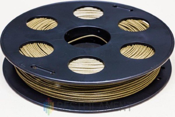 Фото нить для 3D-принтера Пластик BFBronze Bestfilament 1.75 мм, 0.5 кг