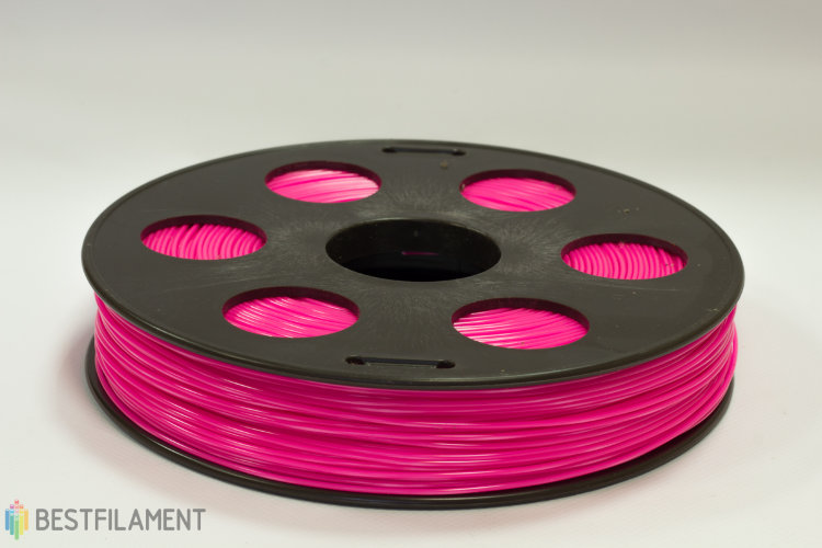 Фото нить для 3D-принтера Розовый ABS пластик Bestfilament 0.5 кг, 1.75 мм