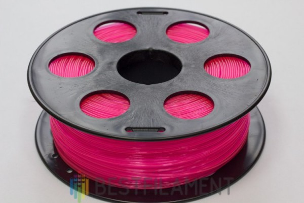 Фото нить для 3D-принтера Розовый PLA пластик Bestfilament 1 кг, 1.75 мм