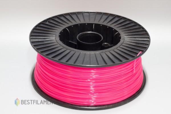Фото нить для 3D-принтера Розовый PLA пластик Bestfilament 2.5 кг, 1.75 мм