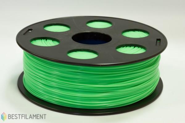 Фото нить для 3D-принтера Салатовый PLA пластик Bestfilament 1 кг, 1.75 мм