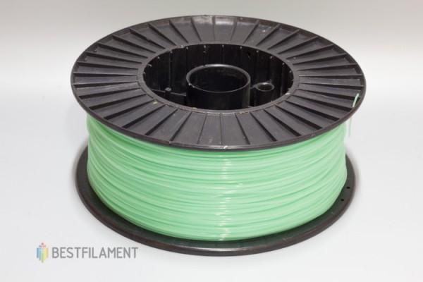Фото нить для 3D-принтера Салатовый PLA пластик Bestfilament 2.5 кг, 1.75 мм