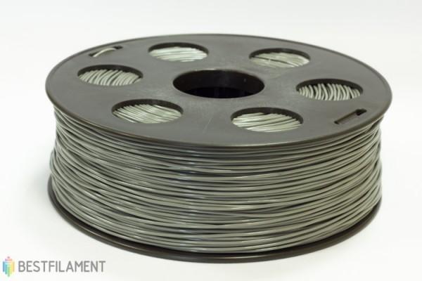 Фото нить для 3D-принтера Серый ABS пластик Bestfilament 1 кг, 2.85 мм