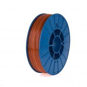 Фото нить для 3D-принтера SHERLOCK пластик PrintProduct коричневый прозрачный