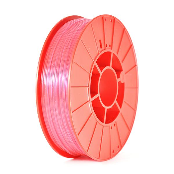 Фото нить для 3D-принтера SHERLOCK пластик PrintProduct красный прозрачный