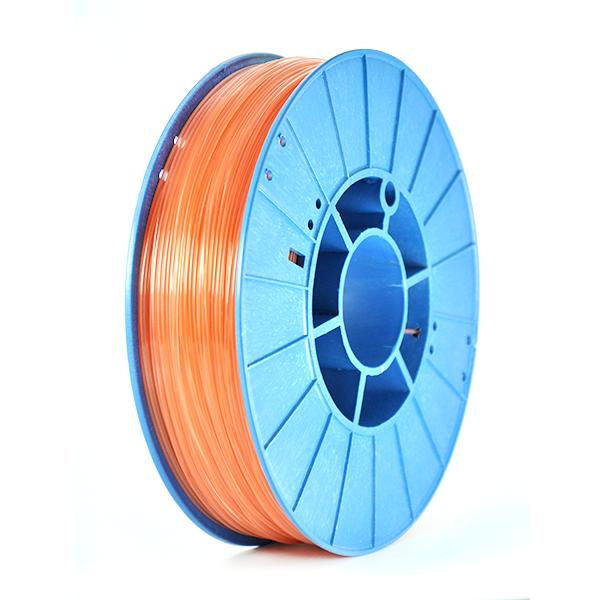 Фото нить для 3D-принтера SHERLOCK пластик PrintProduct оранжевый прозрачный
