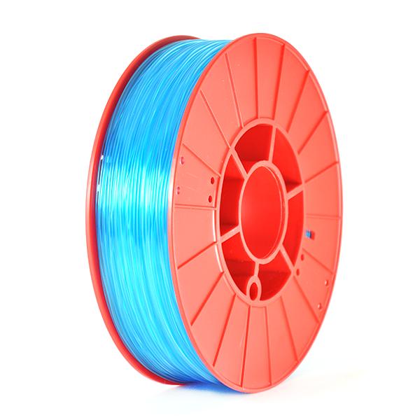 Фото нить для 3D-принтера SHERLOCK пластик PrintProduct синий прозрачный