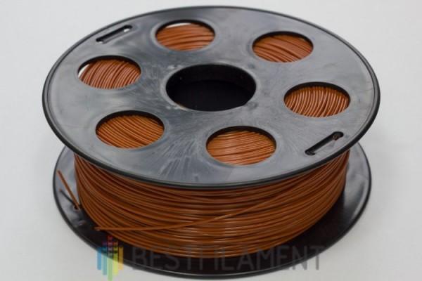 Фото нить для 3D-принтера Шоколадный PLA пластик Bestfilament 1 кг, 1.75 мм