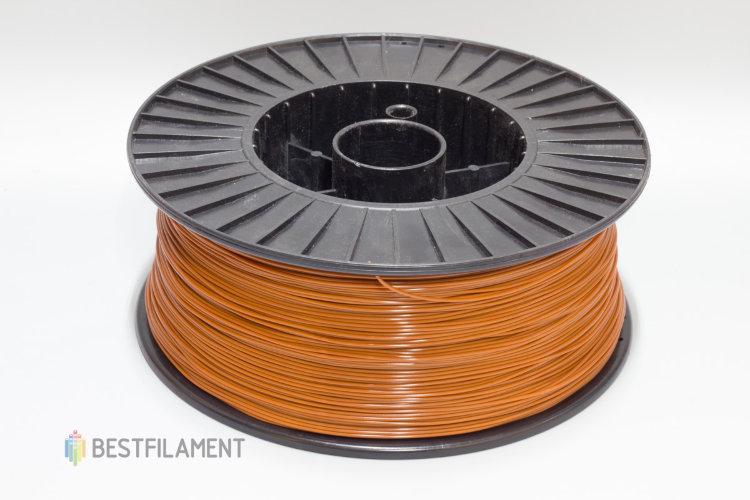Фото нить для 3D-принтера Шоколадный PLA пластик Bestfilament 2.5 кг, 1.75 мм
