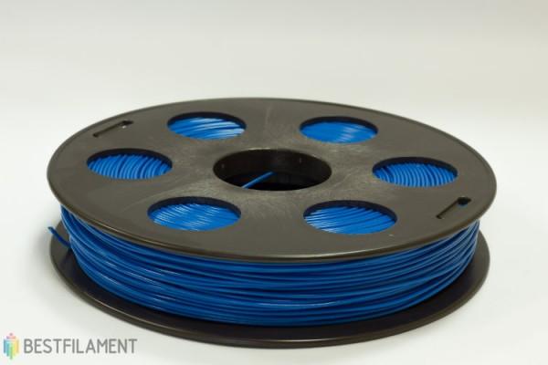 Фото нить для 3D-принтера Синий ABS пластик Bestfilament 0.5 кг, 1.75 мм