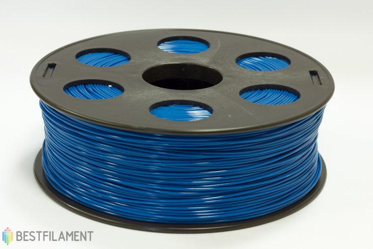 Фото нить для 3D-принтера Синий ABS пластик Bestfilament 1 кг, 1.75 мм