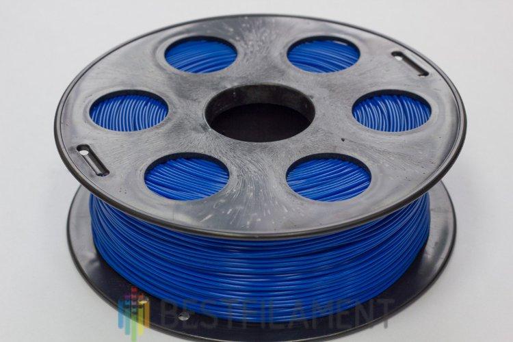 Фото нить для 3D-принтера Синий PLA пластик Bestfilament 1 кг, 1.75 мм