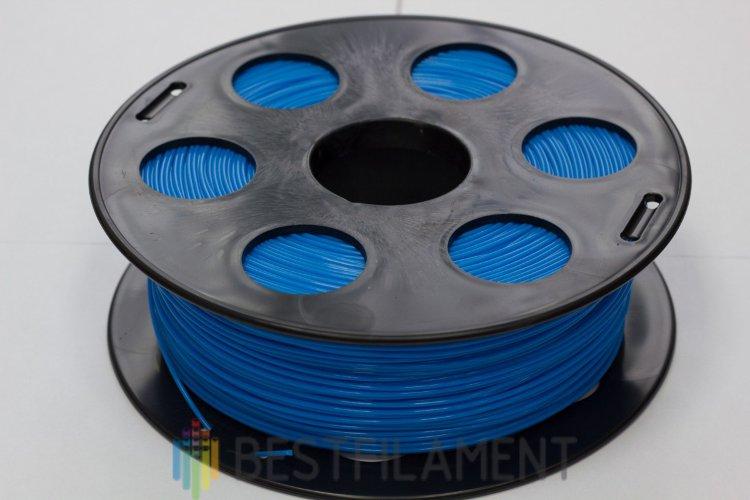 Фото нить для 3D-принтера Синий PLA пластик Bestfilament 1 кг, 2.85 мм