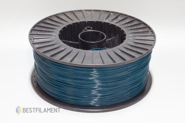 Фото нить для 3D-принтера Синий PLA пластик Bestfilament 2.5 кг, 1.75 мм