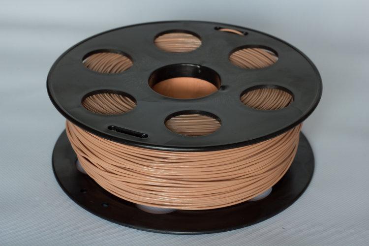 Фото нить для 3D-принтера Светло-коричневый PLA пластик Bestfilament 1 кг, 1.75 мм