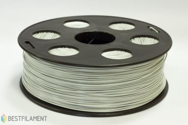 Фото нить для 3D-принтера Светло-серый ABS пластик Bestfilament 1 кг, 1.75 мм
