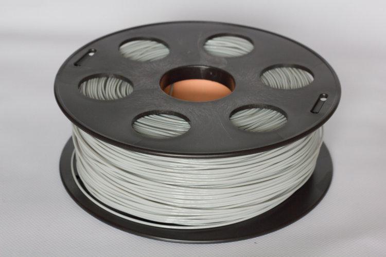 Фото нить для 3D-принтера Светло-серый PLA пластик Bestfilament 1 кг, 1.75 мм