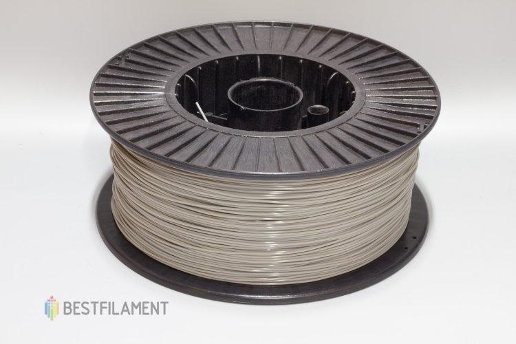 Фото нить для 3D-принтера Светло-серый PLA пластик Bestfilament 2.5 кг, 1.75 мм