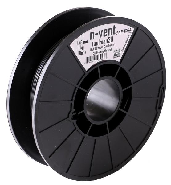Фото нить для 3D-принтера Taulman 3D 1.75mm n-vent Black