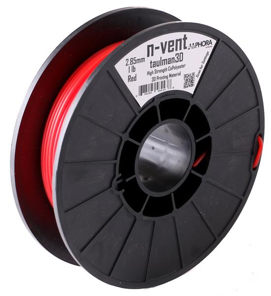 Фото нить для 3D-принтера Taulman 3D 1.75mm n-vent Red