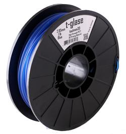 Фото нить для 3D-принтера Taulman 3D 1.75mm t-glase Blue Co Polymer