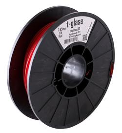 Фото нить для 3D-принтера Taulman 3D 1.75mm t-glase Red Co Polymer