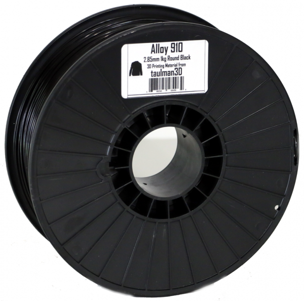 Фото нить для 3D-принтера Taulman 3D 2.85mm Alloy 910 1kg Spool Black