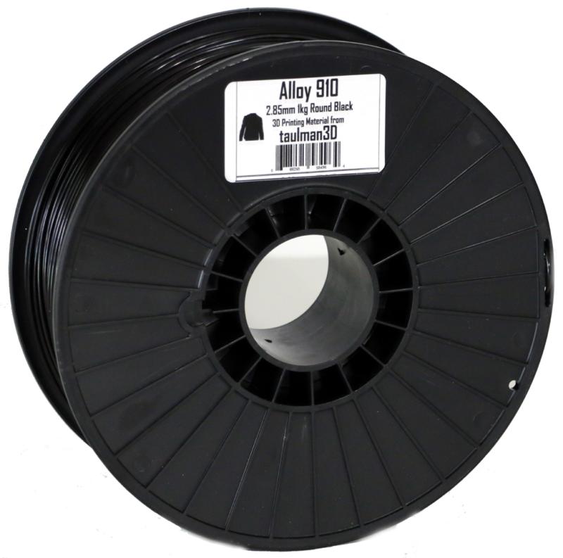 Фото нить для 3D-принтера Taulman 3D 2.85mm Alloy 910 1kg Spool Black