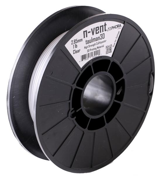 Фото нить для 3D-принтера Taulman 3D 2.85mm n-vent Clear