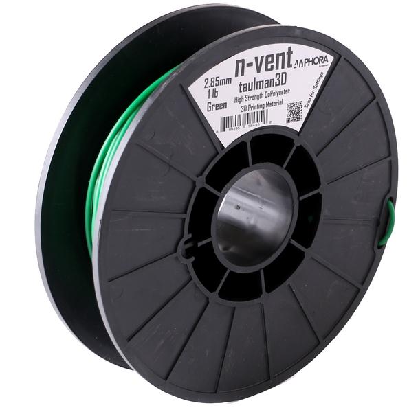 Фото нить для 3D-принтера Taulman 3D 2.85mm n-vent Green